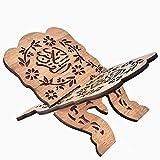 Quran Ständer Koran Halter, Koran Heiliges Buch Ständer Halter Islam Buch Ständer für Muslimische Feste Dekoration, Dichte Bord