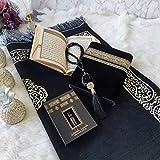 Die ideale Geschenkbox für den Muslim - Gebetsteppich Muslimischer Gebetsteppich Namaz-LIK Seccade, Gebets-Matte, Salah, Sejadah, Seccade, Islamic Prayer mat Rug, für das Gebet im Islam